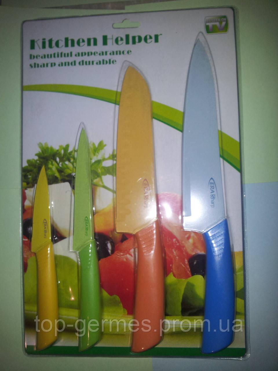 Набор ножей с керамическим покрытием-4шт
