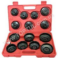Набор съемников масляных фильтров 15 единиц (крышка) HC65100 JTC
