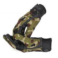 Тактические стрелковые перчатки 5.11 - камуфляж L