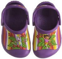 Сабо Crocs с Дашей Dora, р-р С12-С13