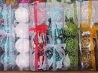 Шикарные новогодние шары-4шт в упак.