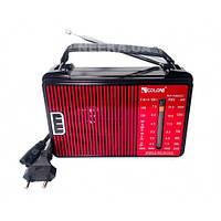 Радиоприемник от сети с пятью волнами GOLON RX-A08AC