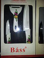 Шикарный набор керамических ножей 3 пред.