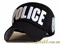 Бейсболка New York Police (кепка черная)