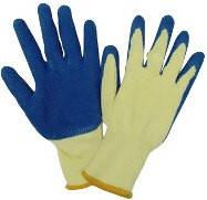 Перчатки трикотажные с латексным покрытием Technics (16-230) пар.