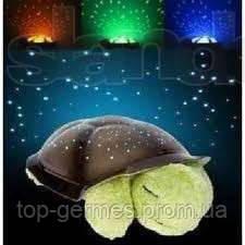 Ночник ЗВЕЗДНОЕ НЕБО черепаха музыкальная+USB шнур