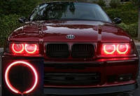 Ангельские Глазки CCFL 85мм, красные на Lanos, Opel, ВАЗ, BMW, KIA