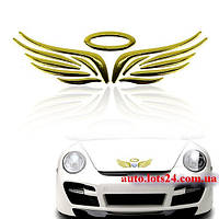 Нимб и крылья - 3D-наклейка на автомобиль, мотоцикл, скутер (крылышки)