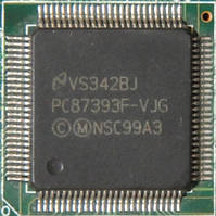Микросхема National Semiconductors PC87393F-VJG для ноутбука