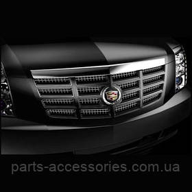 Чорна глянсова решітка радіатора Cadillac Escalade 2007-14 нова оригінальна