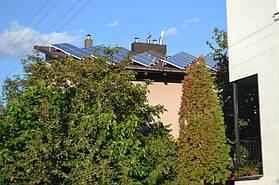 Сонячна гібридна електростанція 10кВт. с. Осещина, Києвська обл. 2