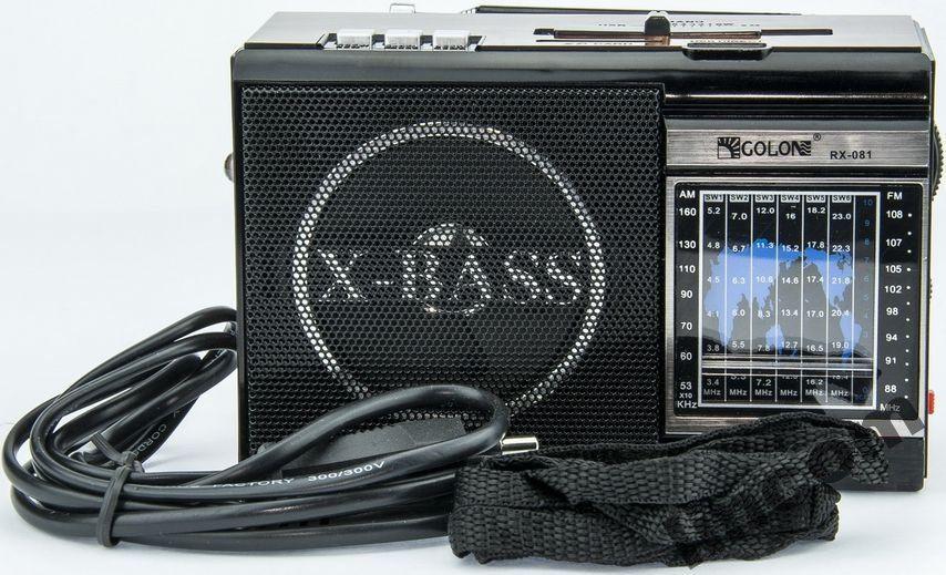 Радиоприемник GOLON RX-081 с MP3, USB с фонариком