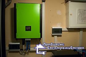 Сонячна гібридна електростанція 10кВт. с. Осещина, Києвська обл. 5