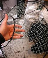 Раколовка конус (чернильница), усиленный металлический каркас, складная конструкция