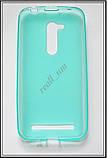Бирюзовый силиконовый чехол накладка-бампер для Asus Zenfone Go ZB452KG, фото 3