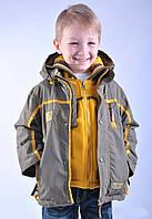 Куртка демисезонная KIKO с кофтой в подарок 92,98