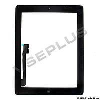 Тачскрин (сенсор) Apple iPad 3 / iPad 4, черный
