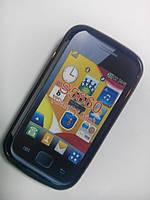 Чехол бампер Samsung S5660 black