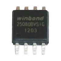 Микросхема Winbond W25Q80BVSIG для ноутбука