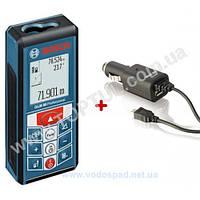 Лазерный дальномер Bosch GLM 80 Professional + Автозарядное устройство (06159940B3)