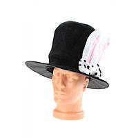 Шляпа Ушки заюшки взрослая карнавальная
