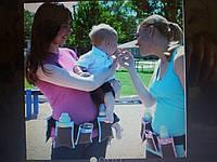 Пояс с карманами для молодых мам