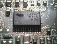 Микросхема MB3887 для ноутбука
