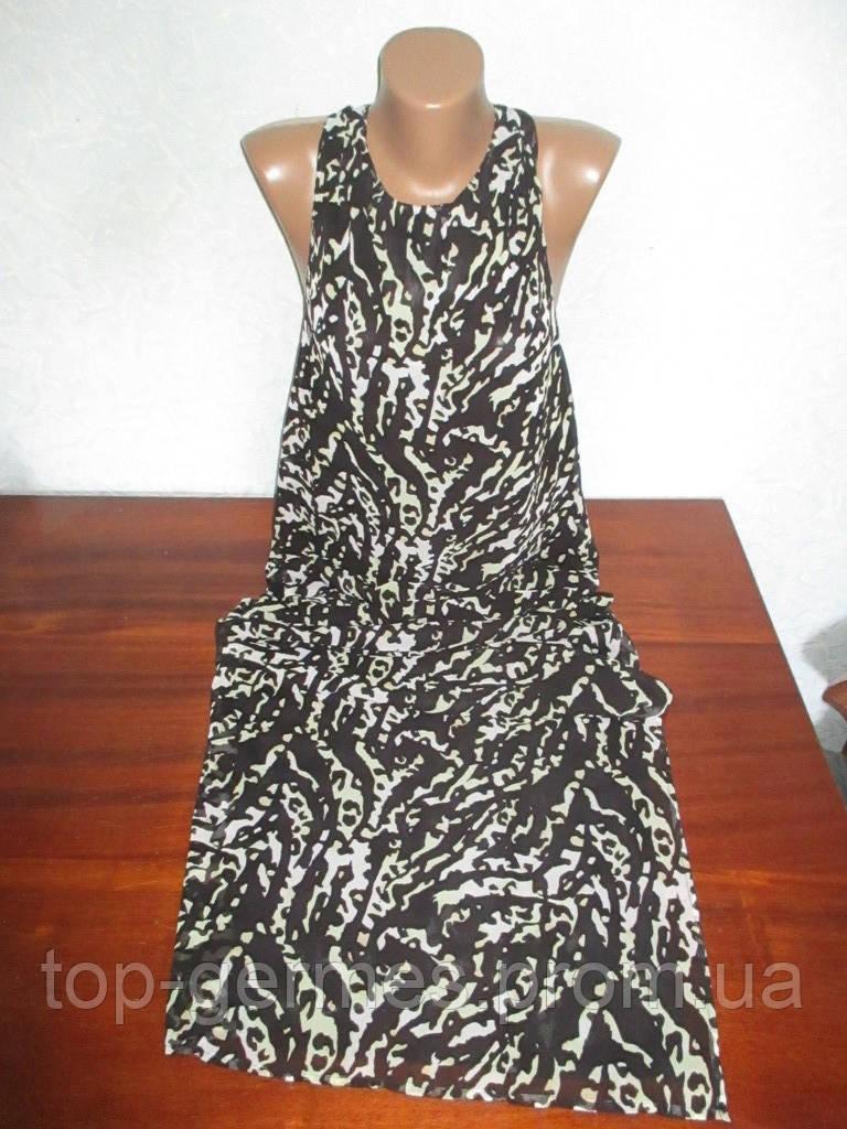 Шифоновое платье в пол (разные размеры)
