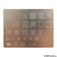 Трафарет B461 Samsung I9000 Galaxy S / i9100 Galaxy S2