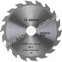 Циркулярный диск 190х30х48 Optiline ECO Bosch 2608641790