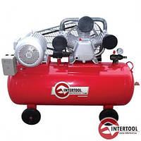 Компрессор 100л, 4HP, 3,0кВт, 380В, 8атм, 500 л/мин (PT-0013)