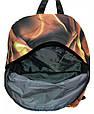 Рюкзак 3334-024-4 3d коричневый 28 л, фото 3