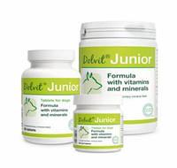 Витамины Долвит Юниор (Dolvit Junior) для молодых собак 90 табл.,140 гр.