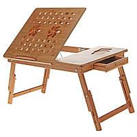 Бамбуковый столик для ноутбука Т28