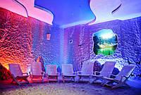 Солевая комната в салоне красоты построить