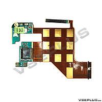 Шлейф HTC T8585 Touch HD2, с кнопками регулировки громкости, с камерой