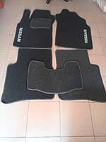 Ковры текстильные в салон Nissan Maxima A32/33 QX 1994-2000-2006 (Ciak ML сер. флок) (5шт/комп)