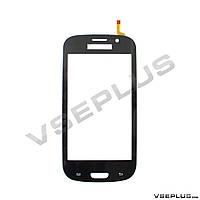 Тачскрин (сенсор) под китайский телефон Samsung I9300 Galaxy S3, TXC-TP-1200, черный, 57 х 95 мм.