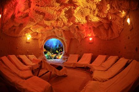Соляная Пещера в загородном доме построить