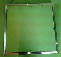 Алюминиевый люк Планшет под покраску в гипсокартонный потолок 20х20 см (200х200 мм)