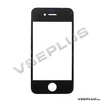 Стекло Apple iPhone 4 / iPhone 4S, черный
