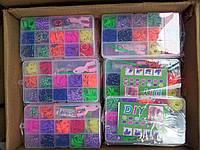 наборы для плетения браслетов из резиночек 600шт