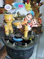 Декоративный фонтан с подсветкой