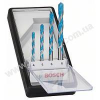 Набор из 4 универсальных сверл Robust Line Multi Construction, Bosch 2607010521