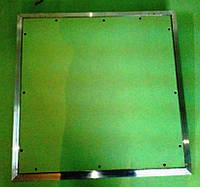Алюминиевый люк Планшет под покраску в гипсокартонный потолок 20х30 см (200х300 мм)