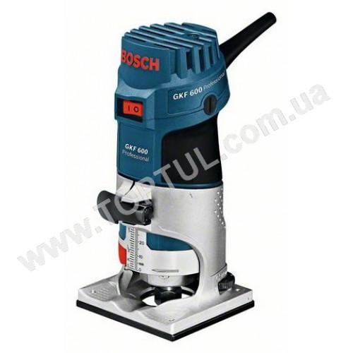 Кромочный фрезер Bosch GKF 600 (060160A100) - ЧП «Интердеталь» - спецкрепеж, такелаж, рукава, шланги. в Полтаве