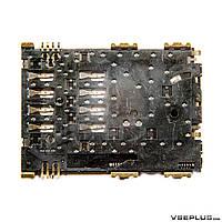 Разъем на SIM карту Samsung I5800 Galaxy 580 / N8000 Galaxy Note 10.1 / P1000 GALAXY Tab