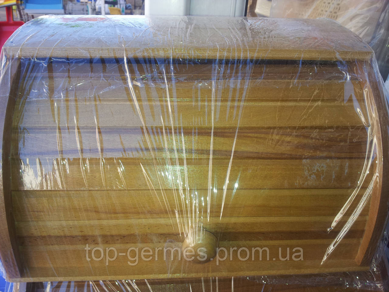 Деревянная хлебница Украина