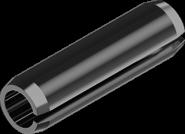 Штифт пружинный М1,5*12 DIN1481 БП цилиндрический трубчатый разрезной