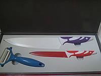 Набор ножей с керамическим покрытием-АКЦИЯ